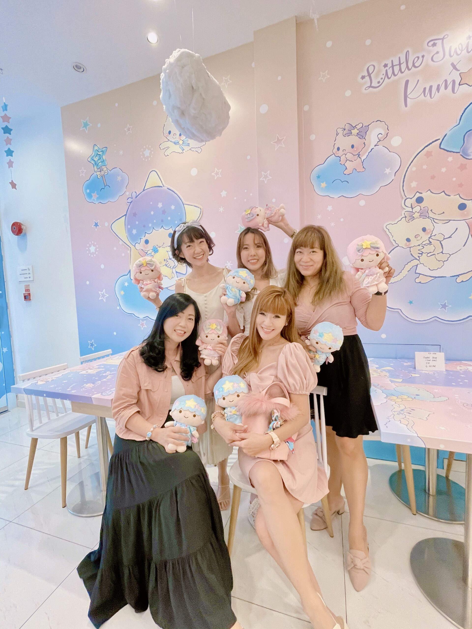 Kumoya x Little Twins Star SG most instagrammable cafe