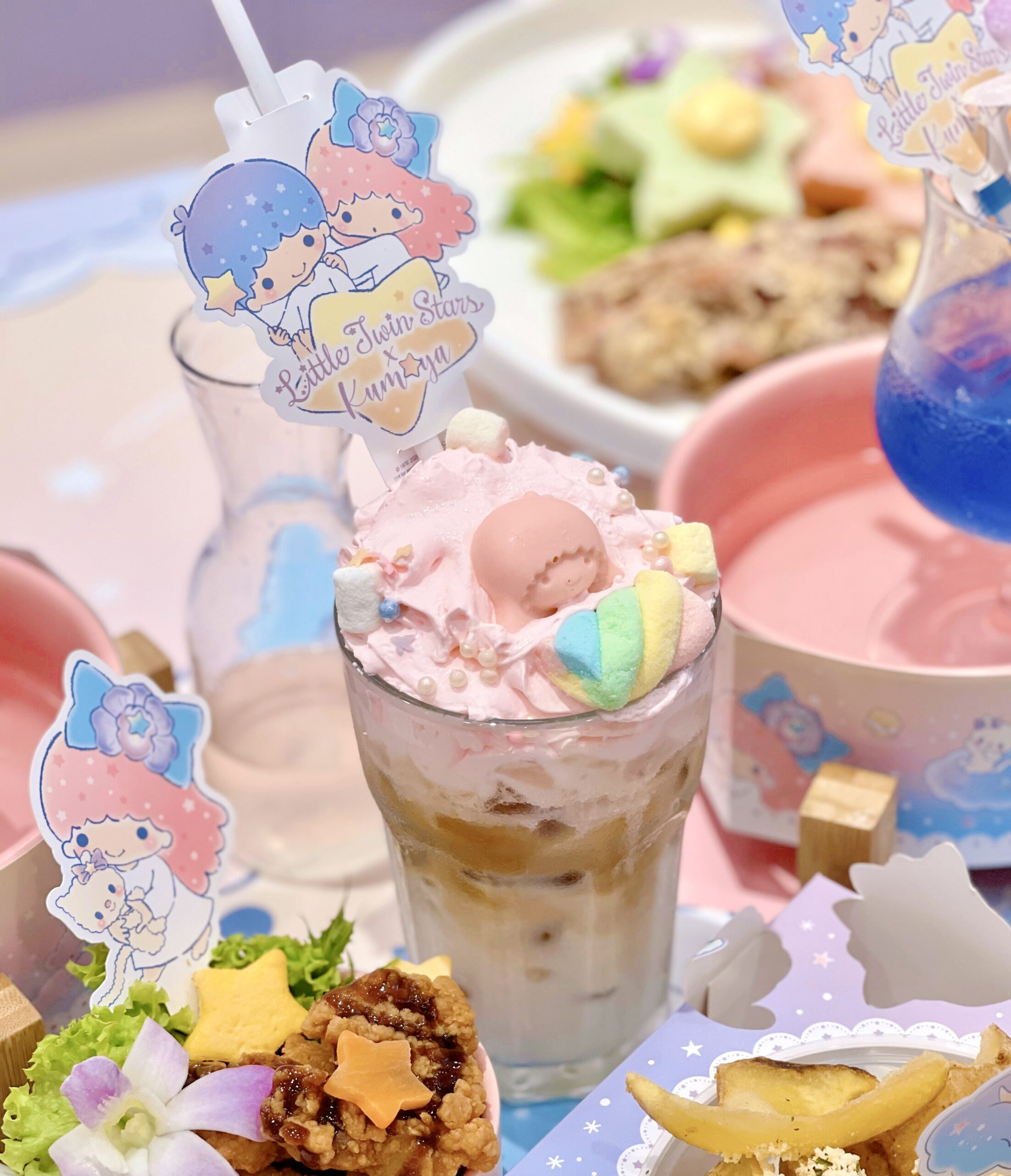 Kumoya x Little Twins Star SG instagrammable cafe
