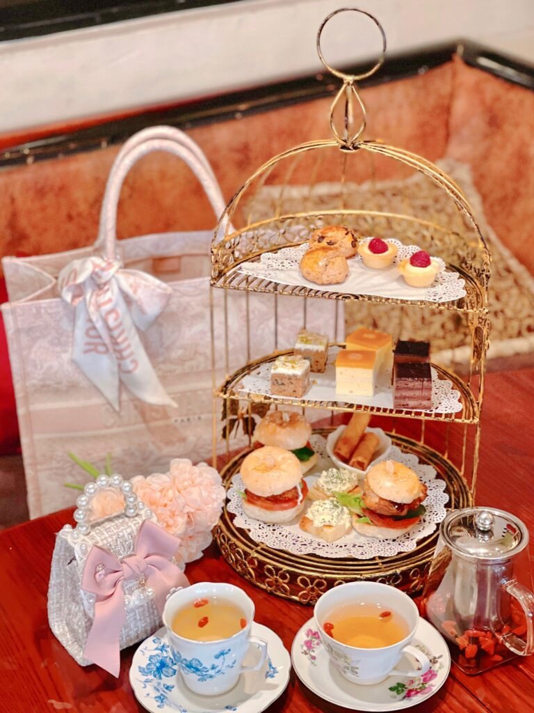 brunches cafe high tea set